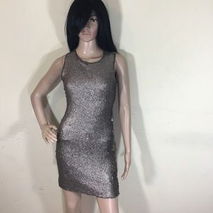 Chelsea and violet ice princess bronze dress